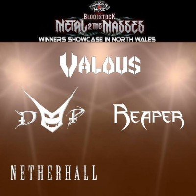 M2TM Winners Showcase North Wales: Valous, Devils Playground, Reaper, Netherhall plus more tickets