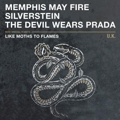 Memphis May Fire / Silverstein / The Devil Wears Prada tickets