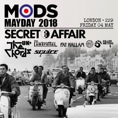 Mods Mayday 2018 tickets