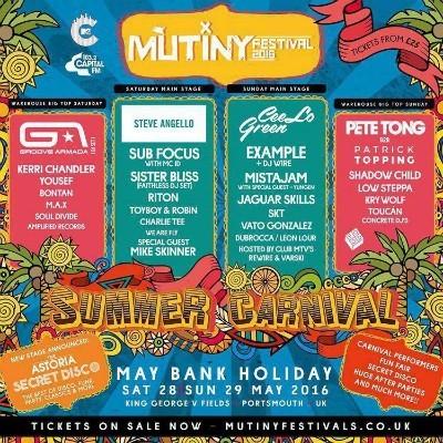 Mutiny Festival  tickets
