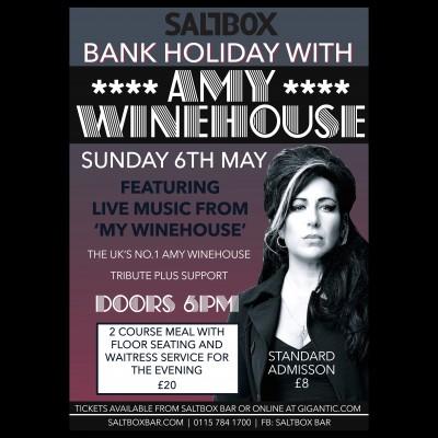 My Winehouse tickets