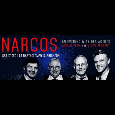 NARCOS Live an evening with Javier Pena & Steve Murphy tickets