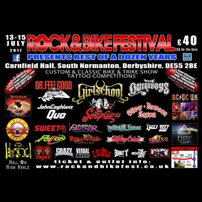 Rock and Bike Festival tickets