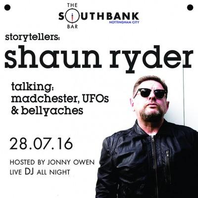 Shaun Ryder tickets