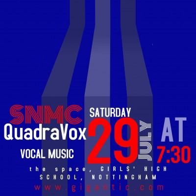 South Notts Men's Chorus and QuadraVox tickets