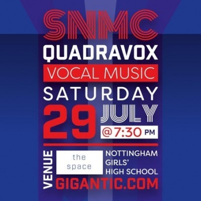South Notts Men's Chorus and QuadraVox tickets