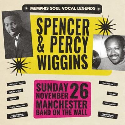 Spencer & Percy Wiggins tickets