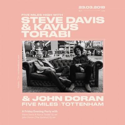 Steve Davis & Kavus Torabi tickets