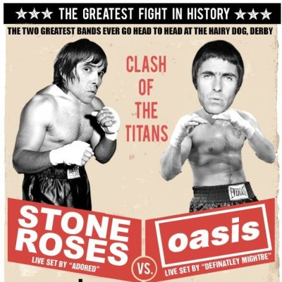 Stone Roses vs Oasis tickets