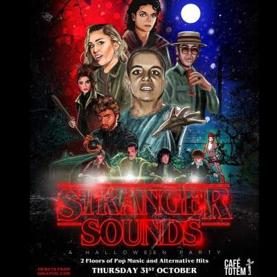 Stranger Sounds Halloween Party tickets