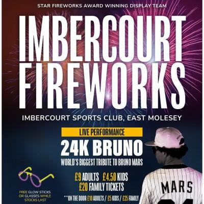 Surrey's Largest Firework Display tickets