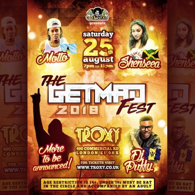 The Get Mad Fest tickets