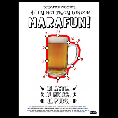 The I'm Not From London MaraFUN 2017 tickets