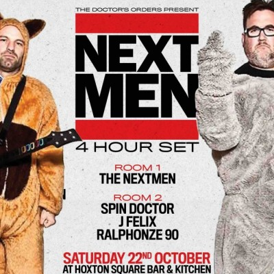 The Nextmen (4 Hour Set) tickets