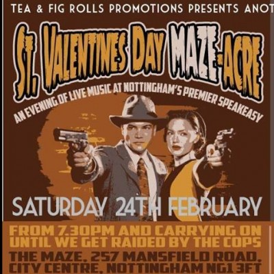 The St. Valentine's Day MAZE-acre tickets