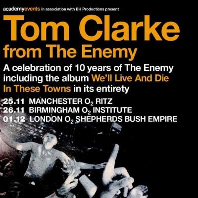 Tom Clarke tickets