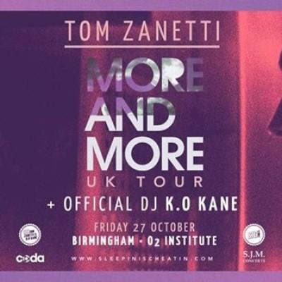 Tom Zanetti tickets