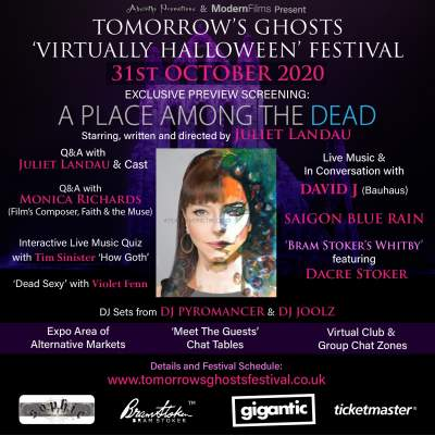 Tomorrow's Ghosts 'Virtually Halloween' Festival tickets