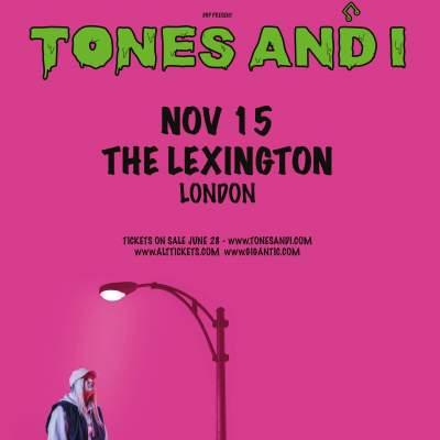 TONES AND I tickets
