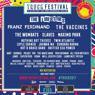 Truck Festival tickets