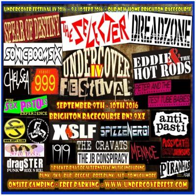 Undercover Festival tickets