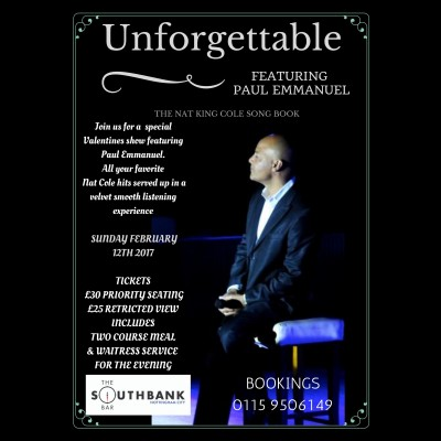 Unforgettable - Paul Emmanuel Live! tickets