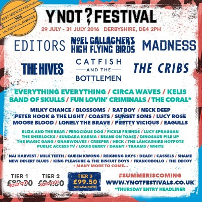 Y Not Festival tickets
