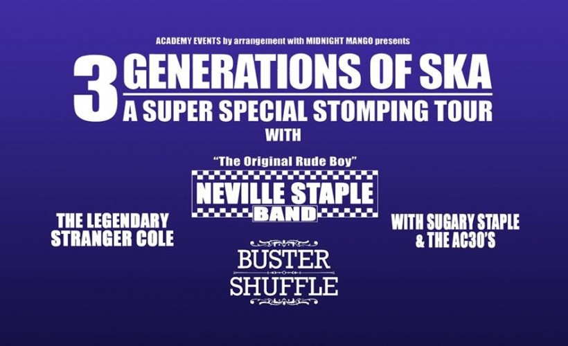 3 Generations of Ska tickets