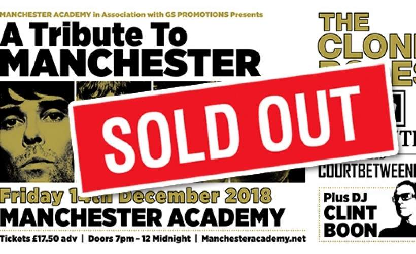 A Tribute To Manchester tickets