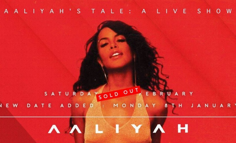 Aaliyah's Tale - A Live Show tickets