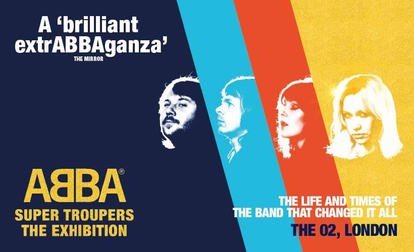ABBA Super Trouper exhibition tickets
