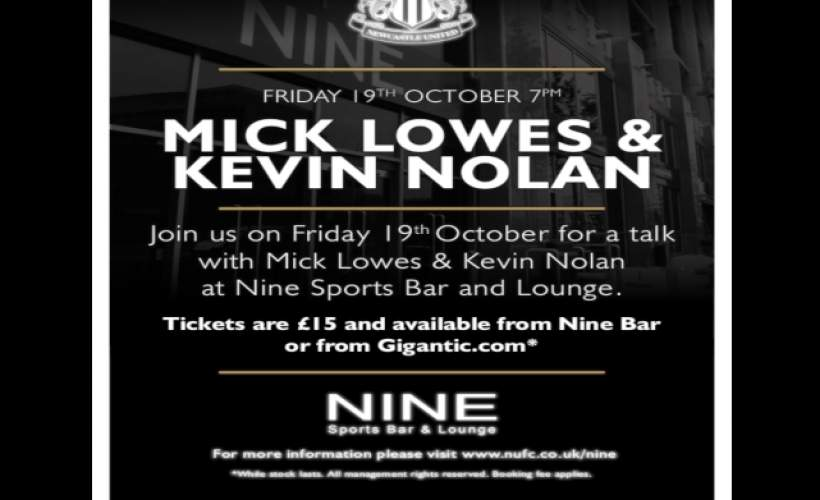 An Evening with Kevin Nolan tickets