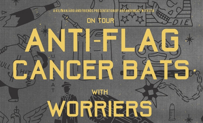Anti-Flag / Cancer Bats tickets