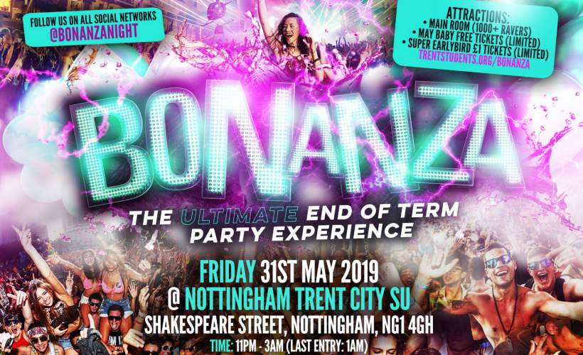 Bonanza tickets