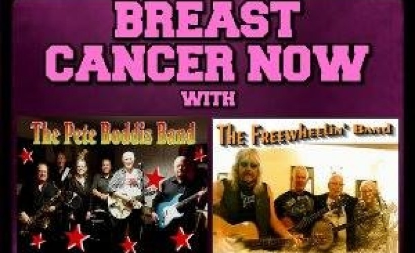'Breast Cancer Now' with Pete Boddis Band + Freewheelin' Band tickets