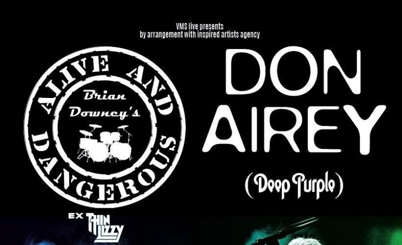 Brian Downey (Thin Lizzy) & Don Airey (Deep Purple)  tickets