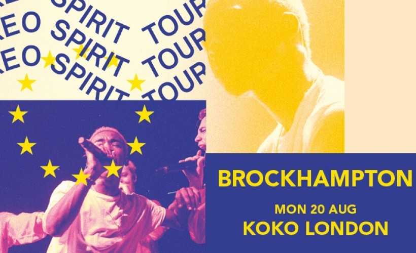 BROCKHAMPTON  tickets