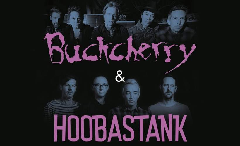 Buckcherry & Hoobastank tickets