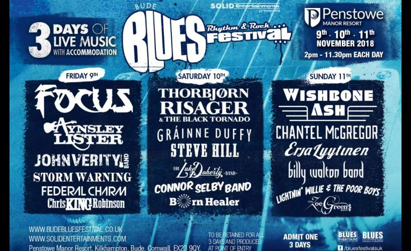 Bude Blues Festival tickets