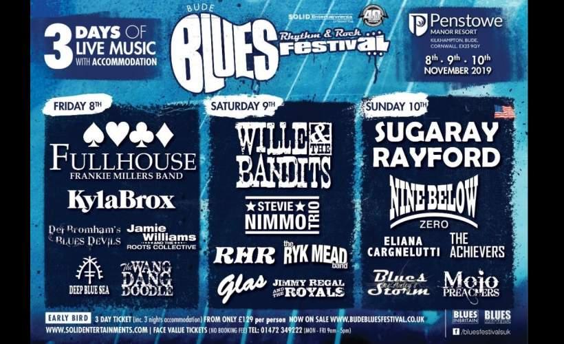 Bude Blues, Rhythm & Rock Festival tickets