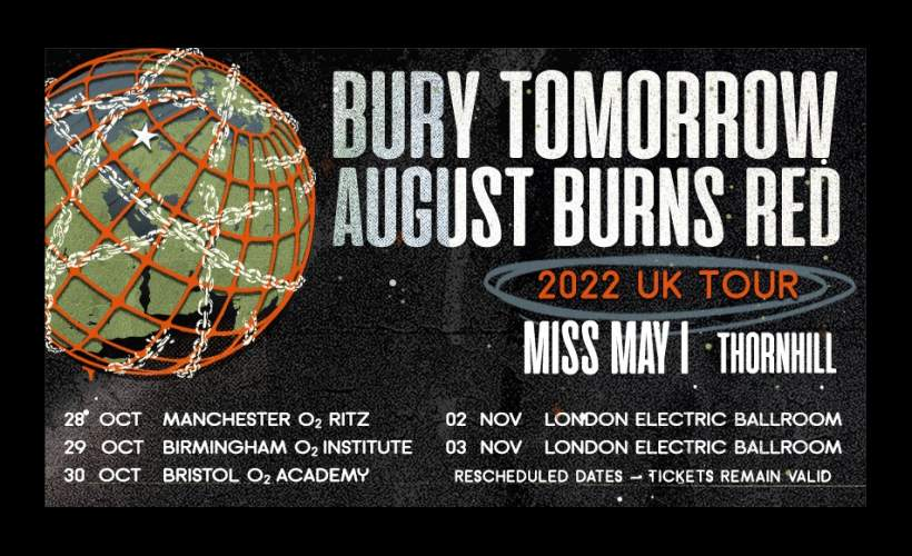 Bury Tomorrow & August Burns Red tickets