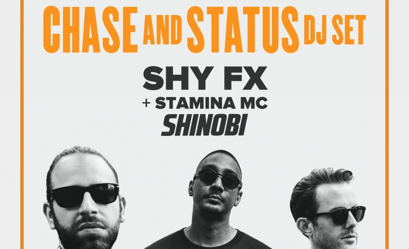 Chase & Status DJ Set tickets