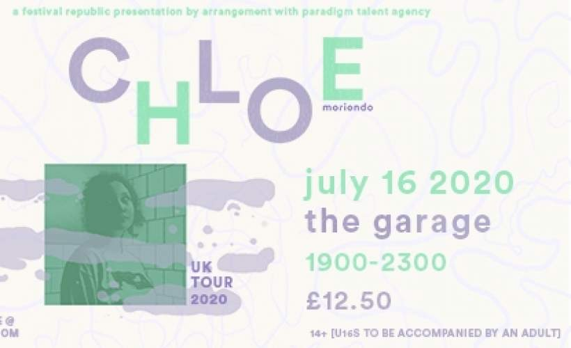 Chloe Moriondo tickets