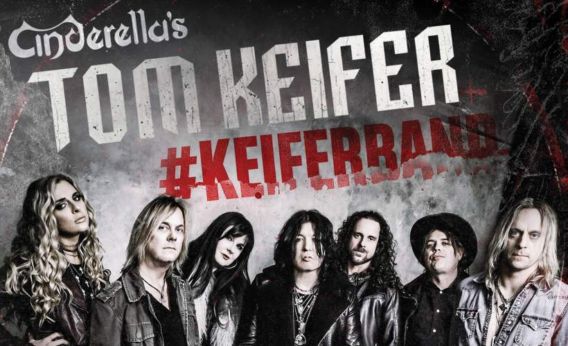Cinderella's Tom Keifer tickets