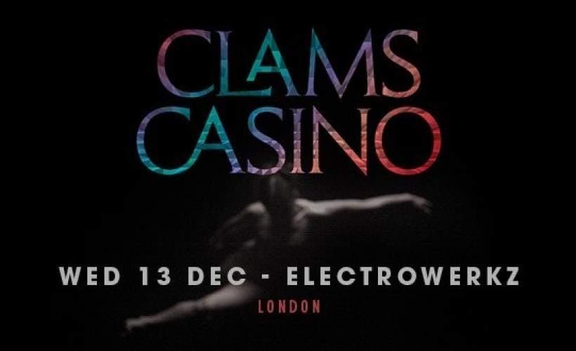 Clams Casino tickets