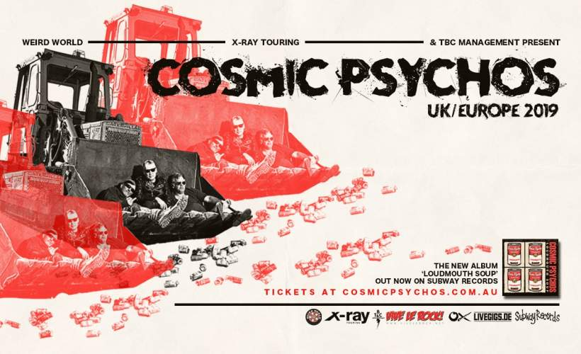 Cosmic Psychos tickets