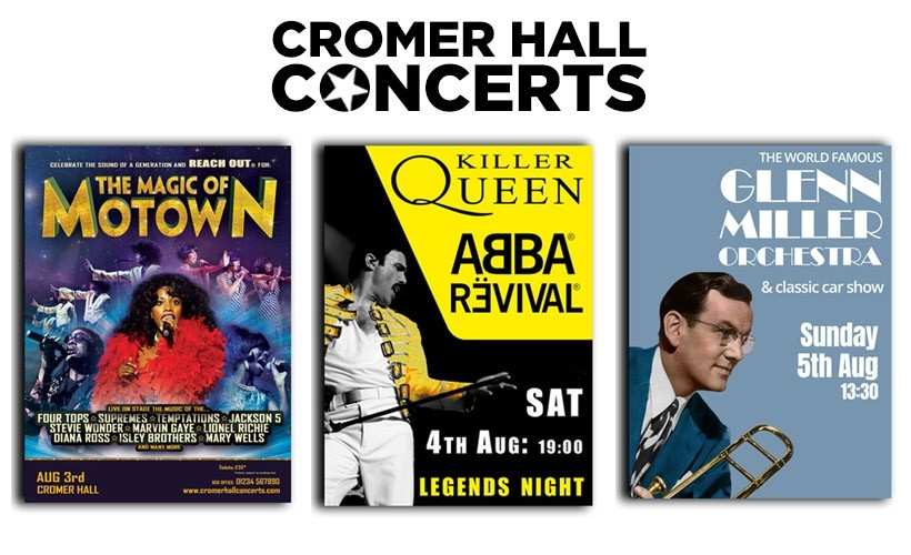 Cromer Hall Concerts tickets