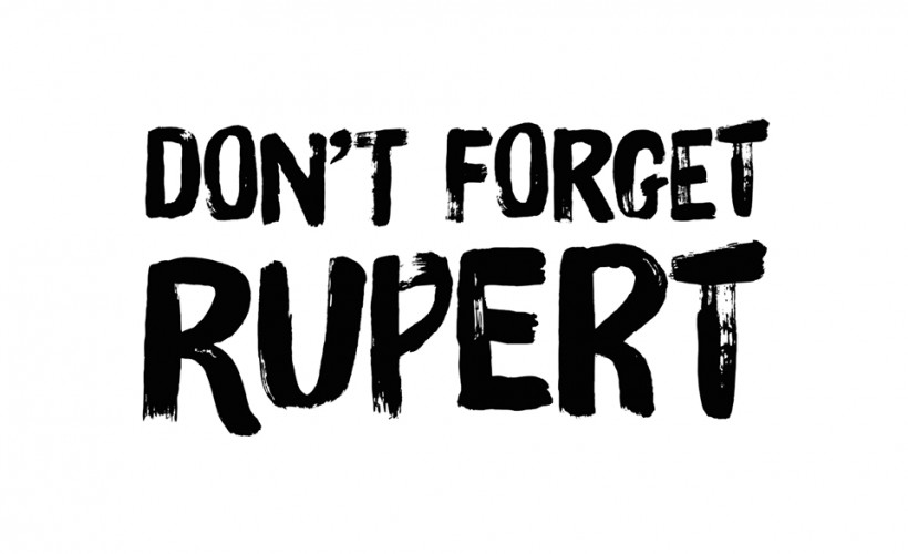 Don't Forget Rupert tickets