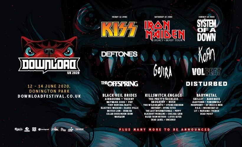 Download Festival 2020.Download Festival 2020 Tickets Donington Park Castle