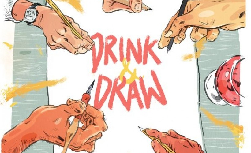 Drink & Draw tickets